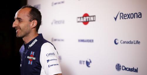 Kubica wsiądzie do nowego bolidu Williamsa we wtorek i środę