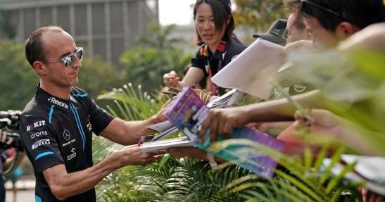 GP Singapuru - 3. trening: Atak Leclerka
