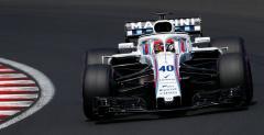 Latifi nowym kierowcą rezerwowym Williamsa