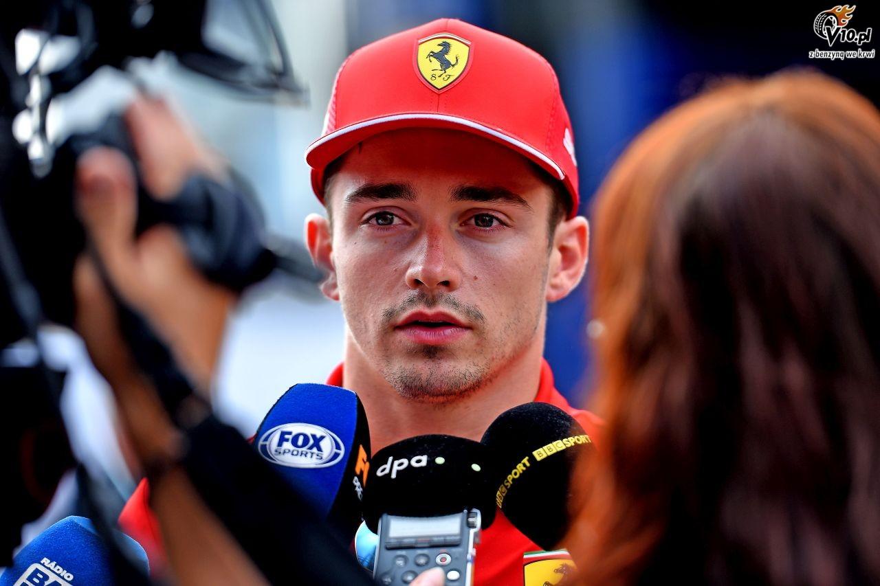 GP W�och - wy�cig: Leclerc bisuje