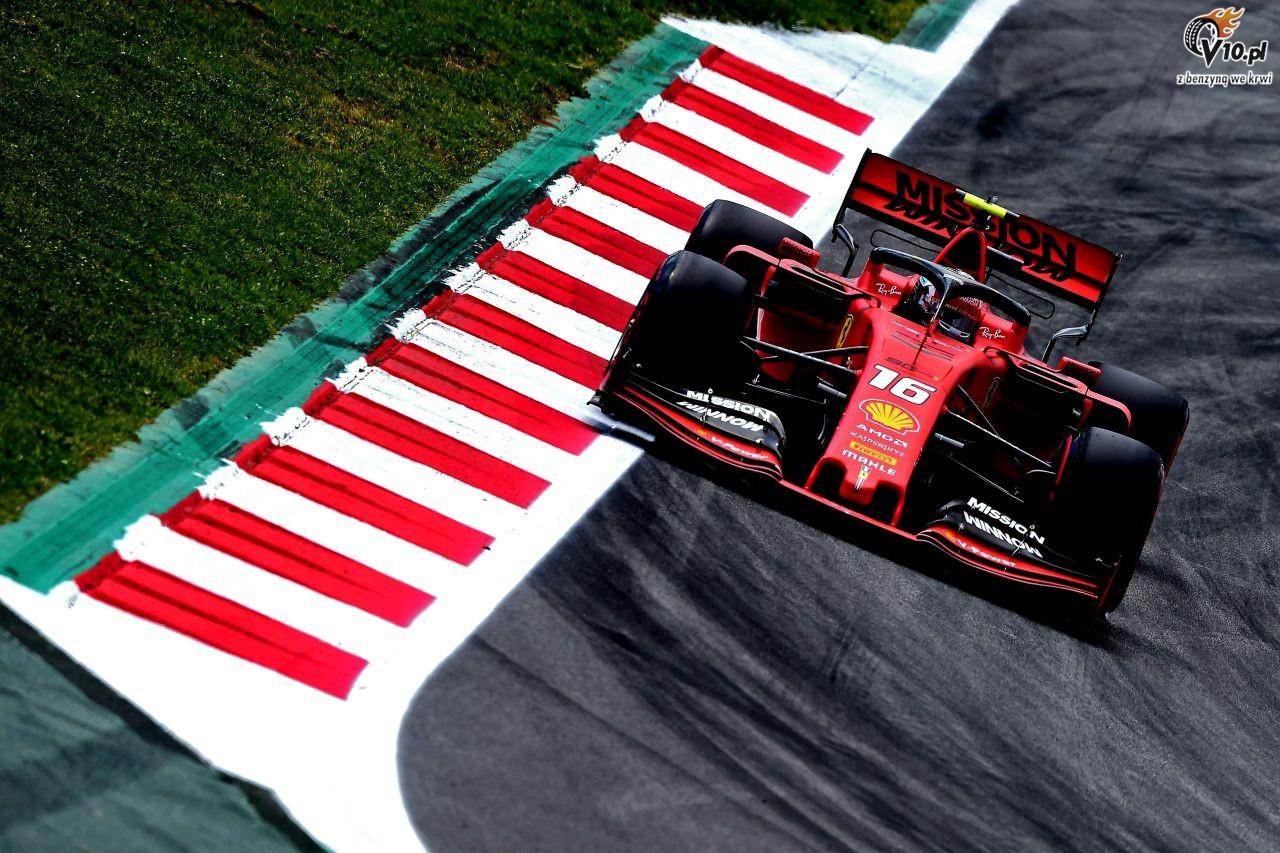 GP W�och - 2. trening: Leclerc utrzymuje si� na czele