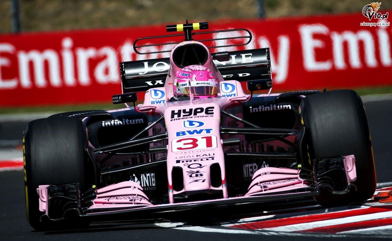Force India: Ocon r�wnie dobry co Verstappen