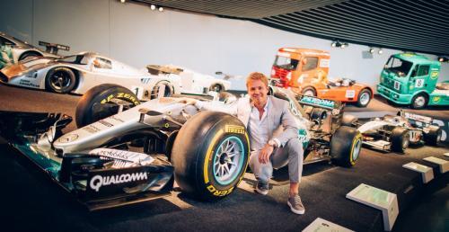 Rosberg został... vlogerem