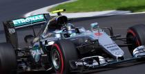 GP Belgii - 1. trening: Rosberg du�o szybszy od Hamiltona, problemy Alonso