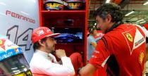 Alonso �mieje si� ze zmiany szefa w Ferrari