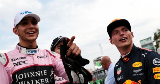 Force India: Ocon równie dobry co Verstappen