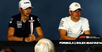 Bottas nie obawia się utraty posady w Mercedesie na rzecz Ocona