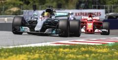 Bolidy Mercedesa i Ferrari