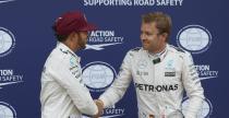 Hamilton i Rosberg dogaduj� si� jak nigdy