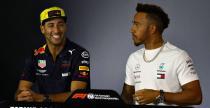 Hamilton ostrzega Ricciardo przed zrażeniem do siebie Red Bulla
