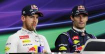 Vettel utrzymuje znajomo�� z Webberem