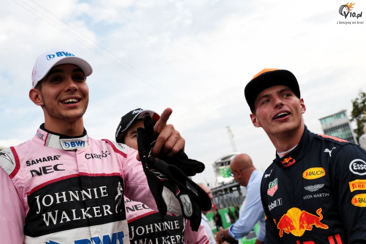 Force India: Ocon r�wnie dobry co Verstappen