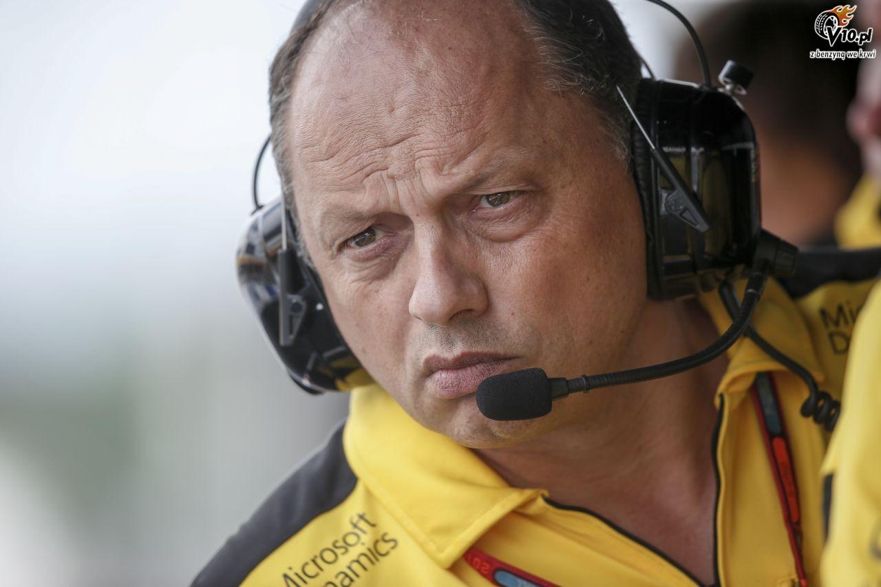 Vasseur oddał funkcję szefa Renault w F1