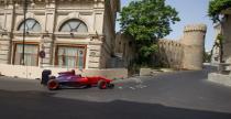 Nowy tor F1 w Baku - przeprowadzono pierwsz� przeja�d�k� bolidem