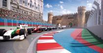 Uliczny tor F1 w Baku gotowy