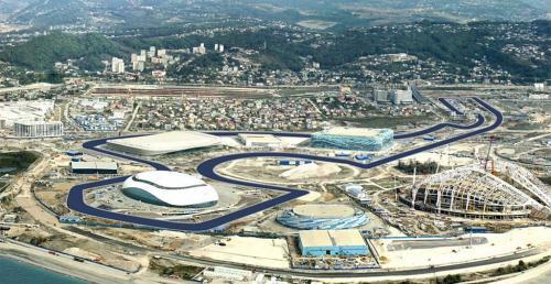 Tor F1 w Soczi nabiera kształtów