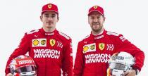 Vettel i Leclerc dotknęli się w pierwszym zakręcie