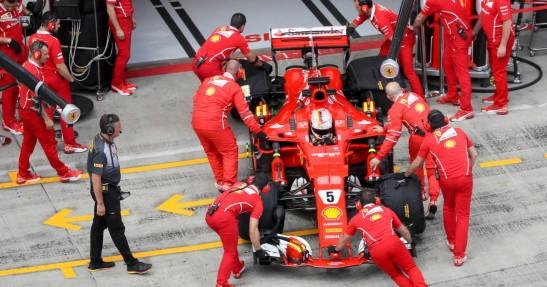 Kwiat kierowcą rozwojowym Ferrari