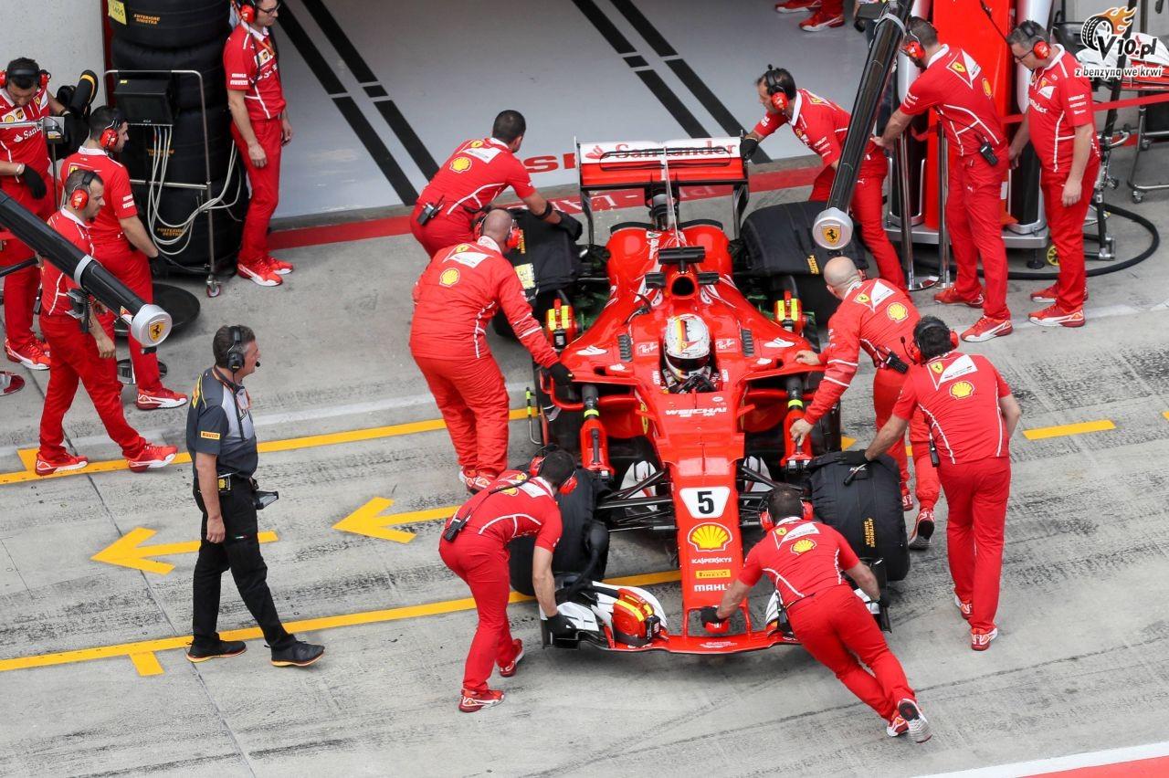 Kwiat kierowc� rozwojowym Ferrari
