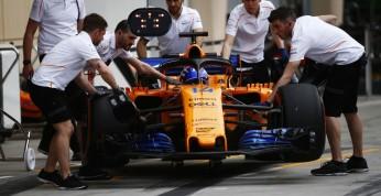 Alonso: McLaren tylko raz usprawnił bolid