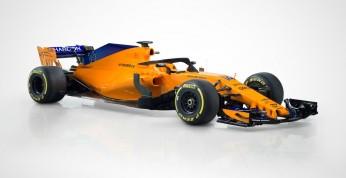 Nowy bolid McLarena zaprezentowany