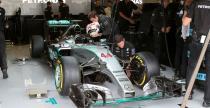 Mercedes ostro�ny z nowinkami w bolidzie na sezon 2016