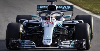 Hamilton oczarowany nowym bolidem Mercedesa.