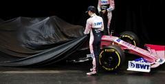 Racing Point zaprezentował malowanie bolidu i sponsora tytularnego