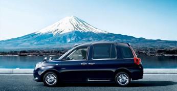 Toyota JPN Taxi - nowa taksówka na rynek japoński