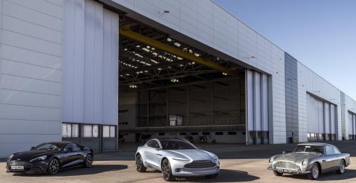 Aston Martin ukończył pierwszą fazę budowy fabryki w St Athan