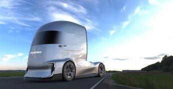 Ford F-Vision Future Truck - ciekawa wizja ciężarówki przyszłości