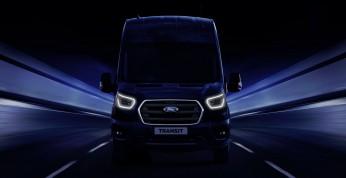 Ford Transit - hybrydowe wersje zadebiutują w Hanowerze