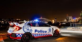 Honda Civic Type R na służbie w australijskiej policji