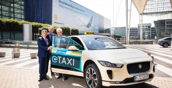 Jaguar I-Pace rusza na podbój niemieckiego rynku taksówkarskiego