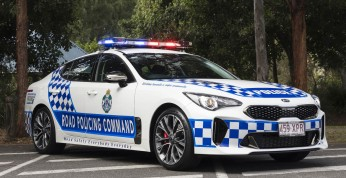 Kia Stinger w szeregach australijskiej policji