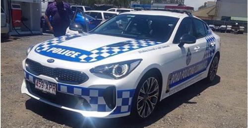 Kia Stinger w służbie australijskiej policji