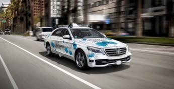 Daimler i Bosch szykują autonomiczną flotę na kalifornijskie drogi