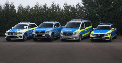 Mercedes pokazał nowe wozy dla policji