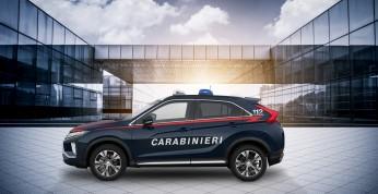 Mitsubishi Eclipse Cross zasili szeregi włoskiej policji
