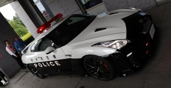 Nissan GT-R dołączył do floty japońskiej policji