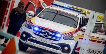 Mercedes i Volkswagen pokazały auta ratunkowe na RETTmobil 2018
