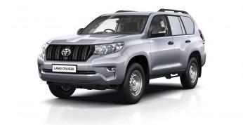 Toyota Land Cruiser LCV - dostawcza terenówka na rynek brytyjski