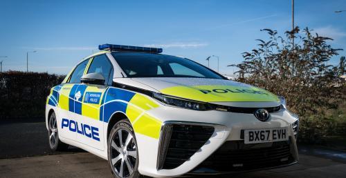 Toyota Mirai FCV w służbie londyńskiej policji