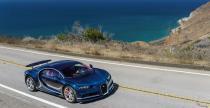 Bugatti Chiron gna 420 km/h. Nagranie z próby prędkości