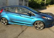 Ford Fiesta RS w efektownym błękicie