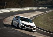 Honda Civic Type-R na legendarnym Nurburgringu