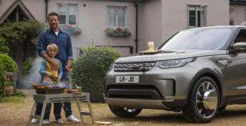 Jamie Oliver i Land Rover Discovery zmieniony w kuchnię