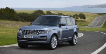 Range Rover w wersji 2018 z napędem hybrydowym