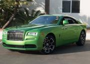 Rolls-Royce Wraith w zieleni Java