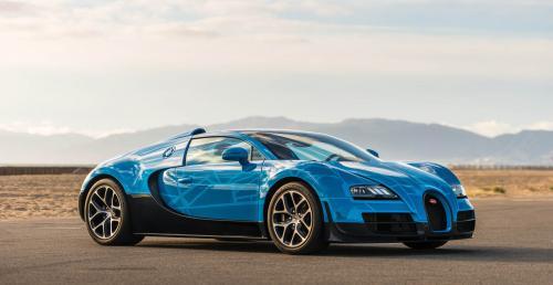 Bugatti Veyron Vitesse dedykowany Transformersom